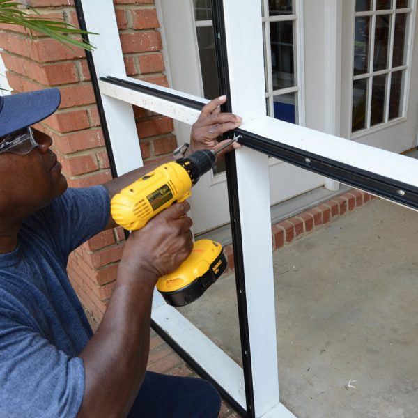 Window & door screen repairs