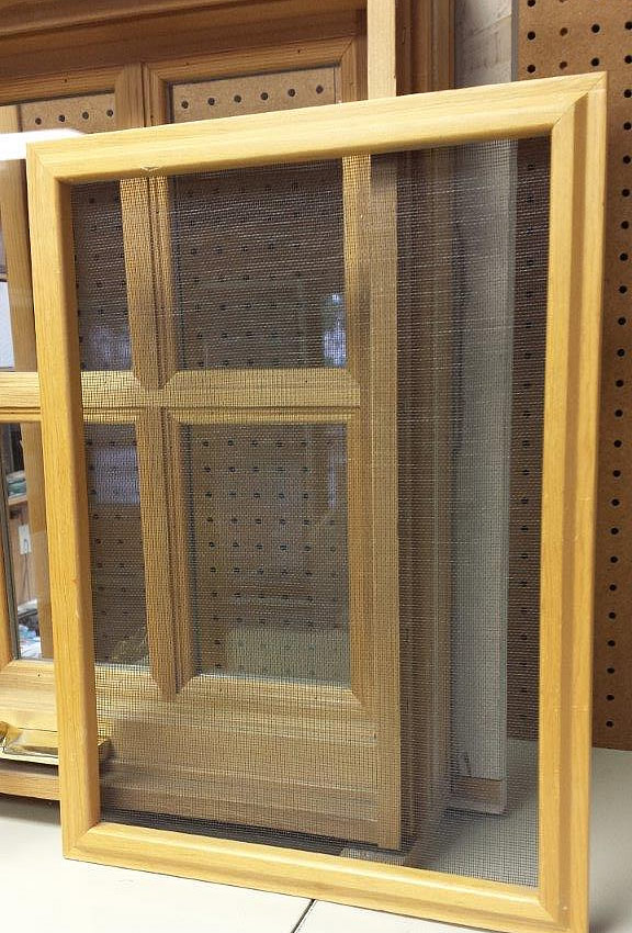 Screen Frames for Wood Windows
